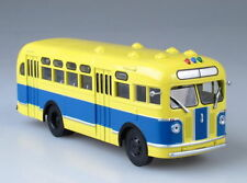 ZIS-155 City Bus Autobus 1949 Red Yellow USSR 1:43 Auto History 44100176