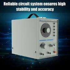 Générateur de signal 220V Basse fréquence Oscillation 10hz-1mhz Équipement Gris