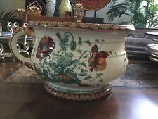 Antique Chamber Pot Poppy pattern SA & Co.