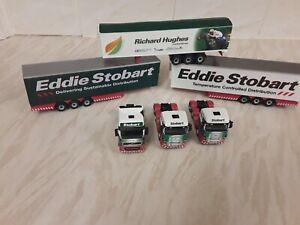 1/76 Code 3 Eddie stobart trucks