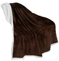 Blanket  Reversible soft Plush throw Blanket (50 x 60 inches ) FREE SHIPPING