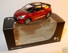 NOREV 3 INCHES 1/54 CITROEN DS3 CABRIO 2014 CABRIOLET ROUGE FONCE