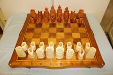 Magnificent Large Russian Vintage Chess Set
