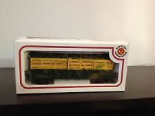K1) Vintage HO Scale Bachmann Chicago Northwestern Wood Stock Car #14332
