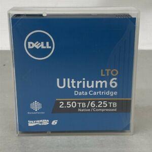 Dell LTO Ultrium6 Tape Media 2.5TB/6.25TB Native/Compressed Data Cartridge 3W22T