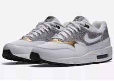Nike AIR MAX 1 SE Women's Running Training Shoe Sz 7.5-9.5 White Gold 881101 100