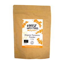 Forest Whole Foods Organic Turmeric (Haldi) Powder