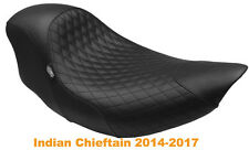 NEW Mustang Shope Signature Series Cafe seat for Indian Chieftain 2014-2017