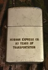 Vintage Lighter - Husman Express Co - Loveland Ohio Trucking Compant