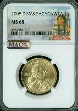 2008-D SACAGAWEA DOLLAR NGC MAC MS68 SMS PQ SPOTLESS *