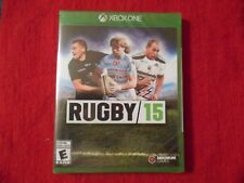 RUGBY 15 XBOX ONE FACTORY SEALED!!!  FREE FAST SHIP!!!  C@@L!!!!!