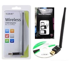 ANTENNA CHIAVETTA USB WIRELESS WIFI EDUP EP-MS8551 TV APPLE LAPTOP PC NOTEBOOK