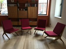 4 fauteuils 1950