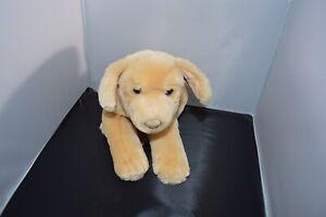 "Golden Retriever Tan Yellow Lab Dog 15"" Plush Puppy Stuffed Animal"