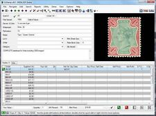 EzStamp INDIA Stamp Inventory Software CD Scott Licensed+Images+Values