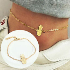Women Fashion Pineapple Ankle Bracelet Anklet Chain Beach Jewelry