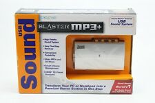 Creative Sound Blaster MP3 Plus External USB Sound System SB0270 New In Open Box