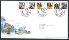 29149) UK - GREAT BRITAIN 2008 FDC Christmas 6v s-a,