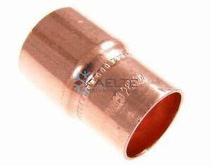 Reduziernippel aus Kupfer 28 x 22 mm, löten