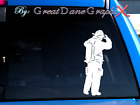 Fire Fighter Image #2 -Vinyl Decal Sticker -Color Choice -HIGH QUALITY