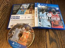 NBA Live 18 (Sony PlayStation 4, 2017) USED PS4 BASKETBALL FREE US SHIPPING