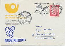 "2440 BRD ""Fahrende Postschule - Oberpostdirektion Düsseldorf"" Hand- + Masch.-SST"