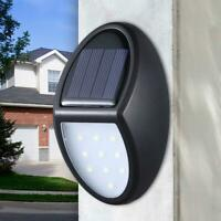 10 LED Solar Light Waterproof Wall Hanging Lamp Home Outdoor Garden Fence Lamp