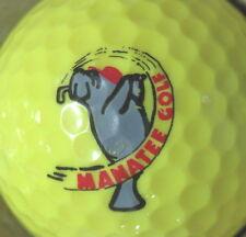 (1) Manatee Golf Course Logo Golf Ball