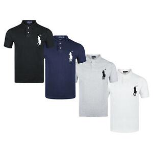 Polo Ralph Lauren Poloshirt Custom Slim Fit Big Pony Poloshirt S M L XL XXL Neu
