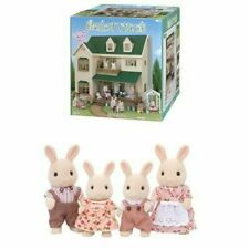USED Sylvanian Families GREEN HILL HOUSE Epoch HA-35 Calico Critters