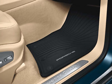 CAYENNE FLOOR MAT RUBBER BLACK WITHOUT 3 ZONE A/C