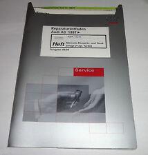Werkstatthandbuch Audi A3 8L Motronic Einspritzanlage Turbo 4 Zyl. AQA ab 1997