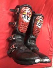 Vintage AXO Motorcycle Motocross  High Buckle Boots Trials Enduro VMX Sz 9 Us