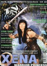 TV ZONE #109 - XENA COVER - APHRODITE - STAR TREK - STARGATE SG-1 - BABYLON 5