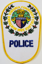 Northern Virginia Community College Police 1965 Cloth Patch