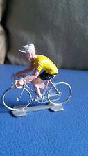 Coureur cycliste miniature Tour de France Maiilot Jaune vintage