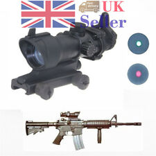 Illumination ACOG Style 1x32 Red/Green Dot Sight Scope For Airsoft Hunt Outdoor