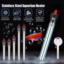 25-500W Aquarium Präzisions Heizstab Wasser Heizung Regelheizer Aqua Heizer DE