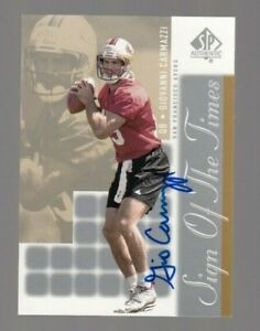 Giovanni Carmazzi 2000 SP Authentic Sign of the Times ON CARD Autograph