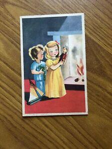 CARTOLINA illustrata bambini ASSOCIAZIONE CARDINAL FERRARI NON VIAGGIATA 11