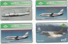 BT Phone card Channel Express GB Airways & Harrier GR7