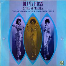 "DIANA ROSS & SUPREMES -U KEEP ME HANGING ON + 3 - TAMLA / MOTOWN - U.K. - 12"" EP"
