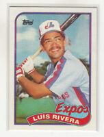 ROGER CLEMENS 1989 Topps #405 Error Variation Oddball Wrong Front Luis Rivera