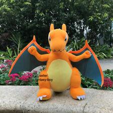 "Charizard 12"" Plush Rizadon Dragon Cool Stuffed Toy Cartoon Soft Doll"