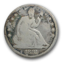 1881 50C Seated Liberty Half Dollar PCGS G 4 Good Key Date Low Mintage Coin