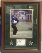 "PSA/DNA JACK NICKLAUS Signed Autograph Photo Matted and FRAMED 18 1/2"" x 24 1/2"""