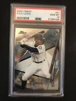 2020 Topps Finest Kyle Lewis Rookie PSA 10 Seattle Mariners RC QTY Available