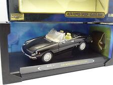 Ricko 1/18 - Alfa Romeo Spider Veloce 2000 Noire
