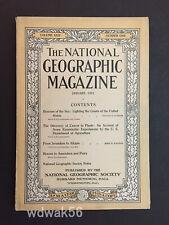1913-01 JANUARY NATIONAL GEOGRAPHIC LIGHTHOUSES-SYRIA-BINGHAM MACHU PICCHU INTRO