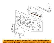 HONDA OEM 06-11 Civic Wiper-Windshield-Wiper Blade Refill Right 76632SVAA01